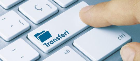 transfert de gros fichiers