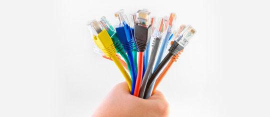 câble ethernet en ligne