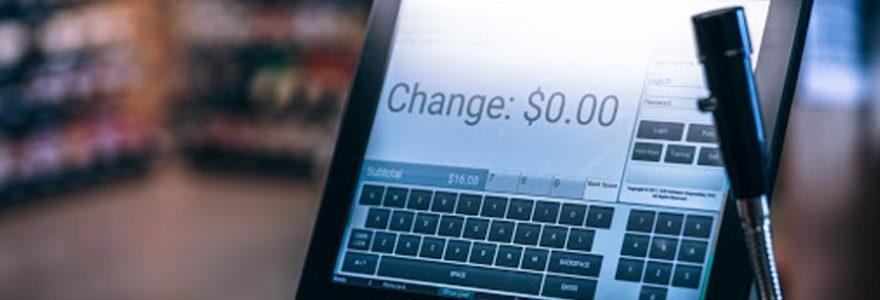 caisse enregistreuse sur iPad