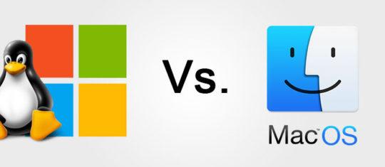 Windows Linux ou macOS